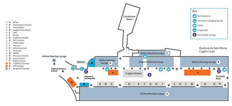 Venue floorplan