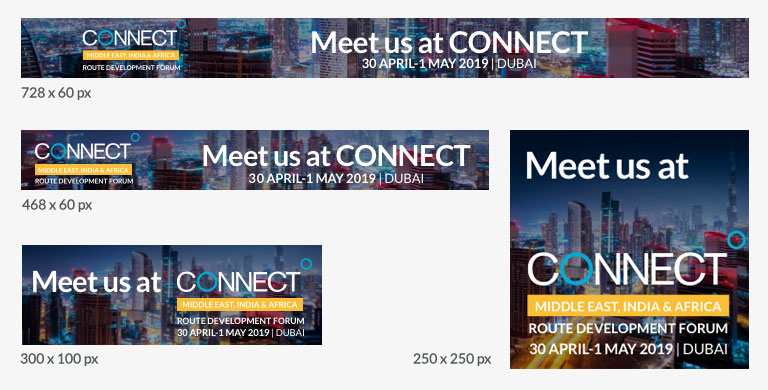 CONNECT MEIA Marketing Banners